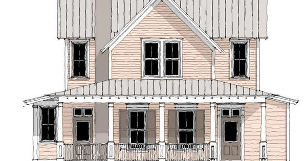 Aiken ridge front four gable house pinterest for Four gables house plan with garage