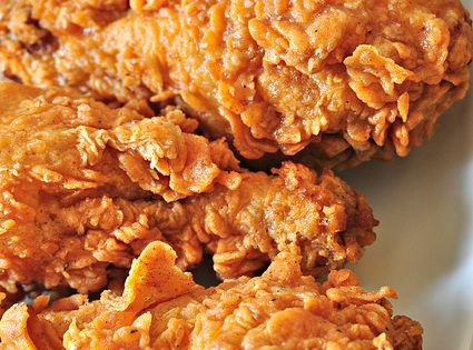 Copycat Popeye's Crispy Spicy Fried Chicken~ Extra Crispy Spicy Fried Chicken recipe