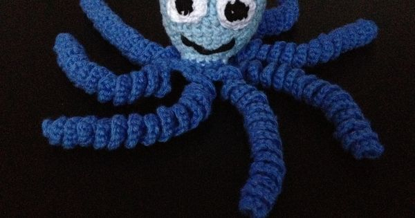 Crochet Octopus For The Premature Babies Crochet Octopus