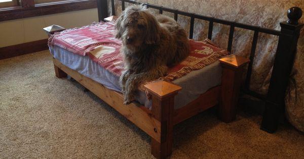 crib mattress turned dog bed dog bed pinterest dog beds mattress and dogs. Black Bedroom Furniture Sets. Home Design Ideas