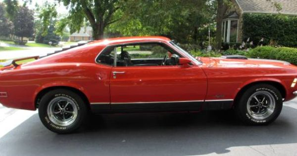 Beautiful 1970 Ford Mustang Mach 1 On Craigslist Classic Cars