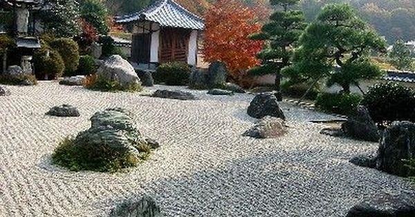 Le jardin zen ou jardin sec est un type de jardin for Le jardin ou l on s attarde