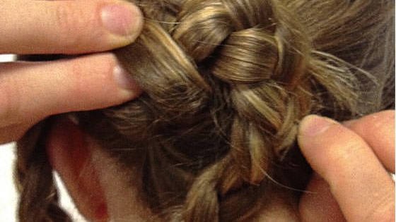 Infinity Braid Bun. Hair HairStyles Tutorial Tutorials