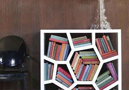 As long as there are bookshelves, there is honeycomb. I like the