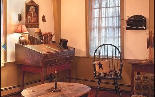 Early american antique primitive furniture primitive americana style decor and decorating here for Americana furniture and interiors