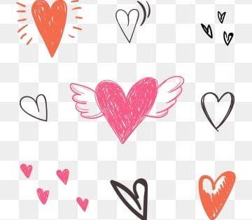 Heart Shaped Wings Heart Shaped Combination Chalk Doodle Graffiti Brushstroke Diy Graffiti Brushstroke Heart Shaped Png And Vector With Transparent Backgroun Heart Shape Petals Logo Design Free Templates Line Art Vector