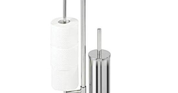 Wenko 22512100 Universalo neo Combiné WC Argent 30 x 20 x 73 cm