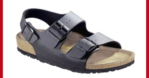 Birkenstock Milano Sandals Birko Flor regular Black