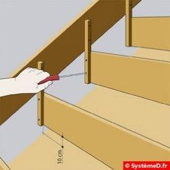 Un Coffrage Pour Escalier En Béton En 2019 Escalier Beton