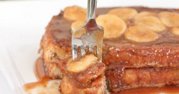 Peanut Butter Bananas Foster French Toast | Butter, Bananas foster ...