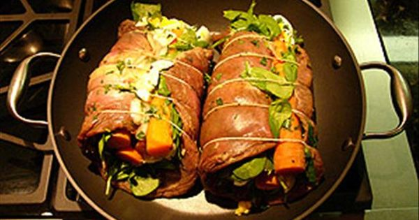 how to cook rolled flank steak