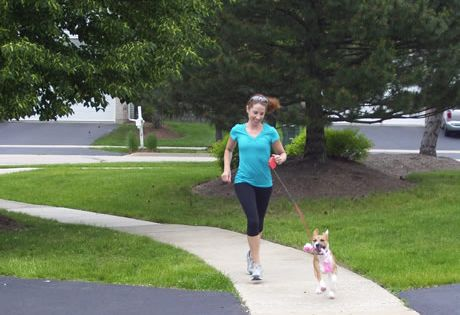 Running tips with a new pup