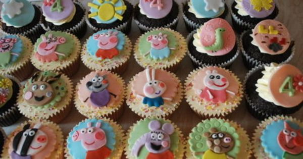 Peppa Pig with family & friends - by MrsSunshinesCakes ...