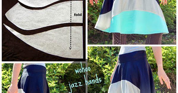 Cute skirt pattern. Sewing project? @Rebecca Hyatt