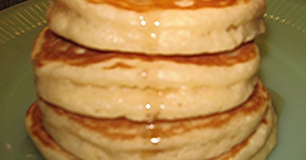 BEST PANCAKES EVER recipe ~ They are super tall, light and fluffy