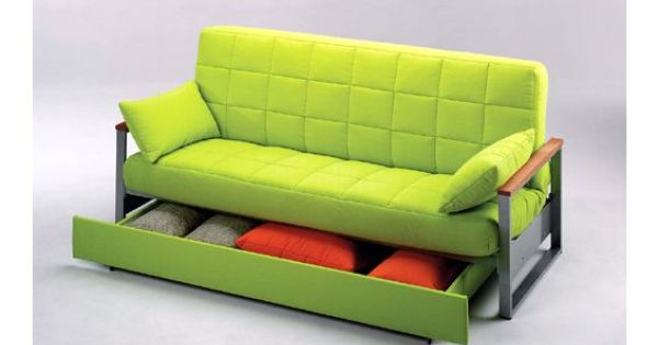 Sofa cama tres plazas con un caj n sofa cama tapizado en for Fabrica sofa cama 2 plazas