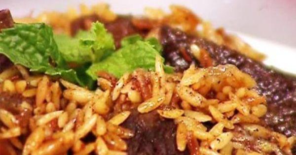 طريقة عمل طاجن لسان العصفور Beef Ground Beef Mediterranean Kitchen