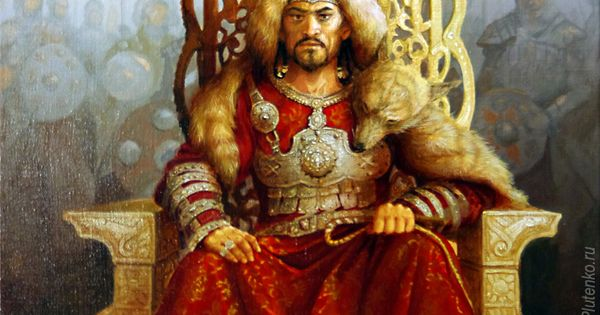 Genghis Khan (2013) by Stanislav Plutenko. The ...