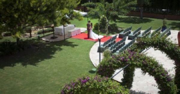 Bodas En Jardines Con Comodidades De Un Hotel En Hotel Cortijo Chico En Alhaurín De La Torre Málaga Boda En Jardin Málaga Jardines