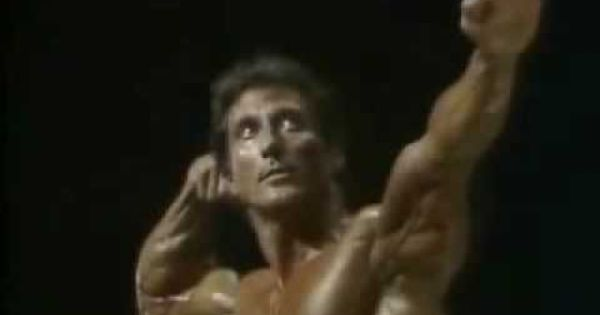 Frank Zane ~ posing routine on Mr Olympia 1983 - a work of ...