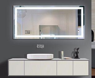 Led Illuminated Bathroom Mirror Illuminated Mirrors Backlit Bathroom Mirror Bathroom Mirror