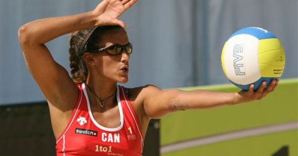 Sarah Maxwell - Retired Canadian Beach Volleyball Player -1210