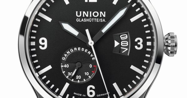 union glash tte belisar pilot gangreserve watches. Black Bedroom Furniture Sets. Home Design Ideas