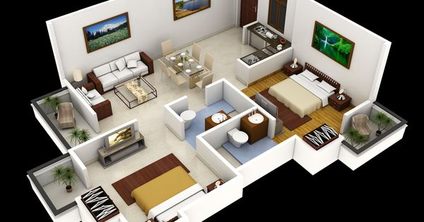 Rumah pinterest home floor plans floor plans and small homes