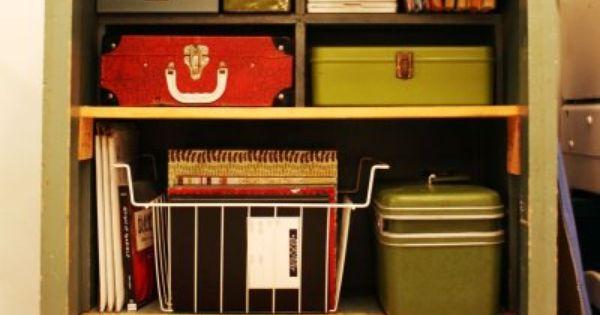 LA. vintage box storage
