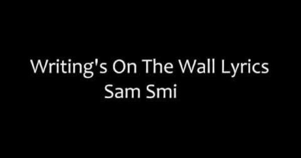 Writing on the walls lyrics