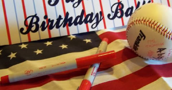 1st birthday baseball party for a boy.