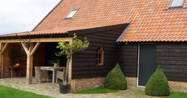 Veranda potdeksel hout met stalraam - tuin : Pinterest - Met en ...