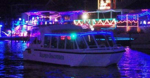 Christmas Canal Lights Mandurah Cruises Cruise Christmas Lights Local Activities