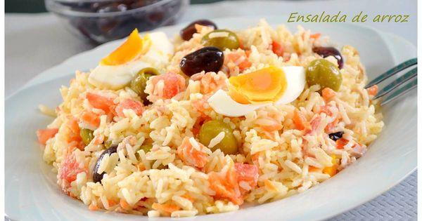 Ensalada de arroz con mayonesa thermomix recipe - Ensalada de arroz con atun ...