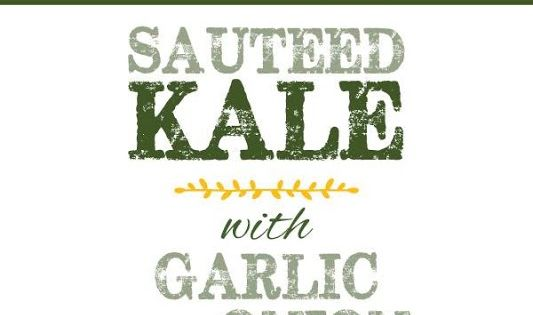 Sauteed Kale with Garlic and Onion (Melting Tuscan Kale) | Kale ...