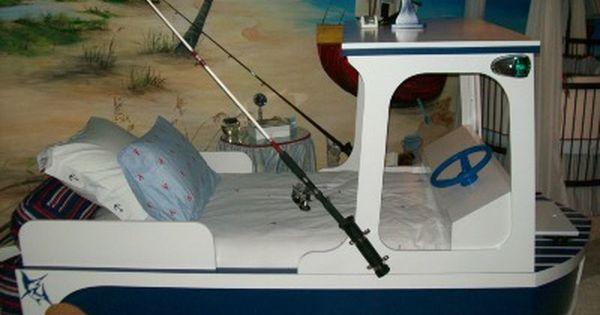 Www Interiordesignedenvironments Com Boat Bed Fishing Room Kids Room