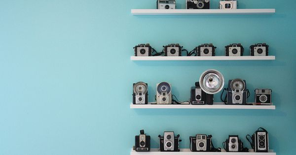 This is the picture that inspired me to collect old cameras. One