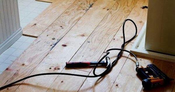 Plywood floors, Plywood and Floors on Pinterest