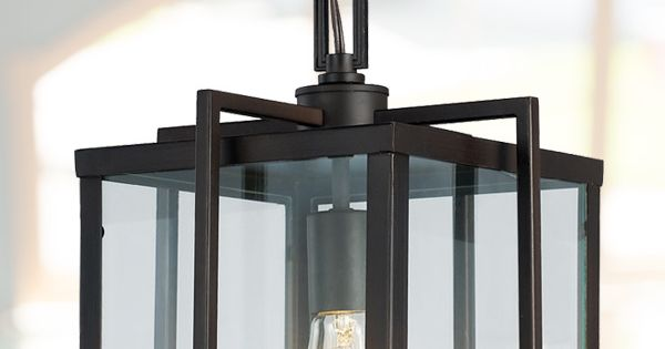 Foyer Lighting Menards : Foyer pendant light with modern lines and edges http