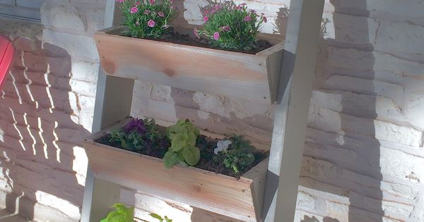 Easy Ladder Planter Ana White Plans Diy How To Build 400 x 300