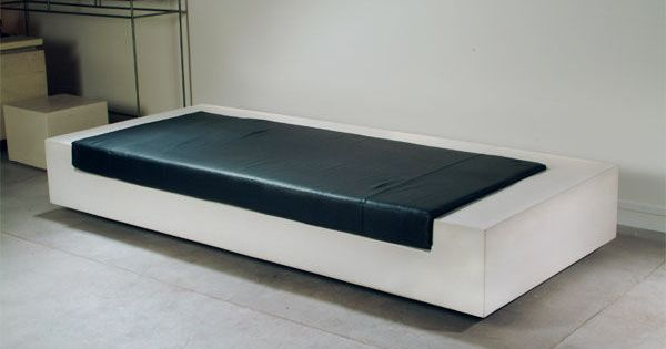 Modern leather sectional sofas - Contemporary Concrete Stool Puzzle Compact Concrete