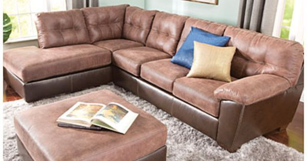 Signature Design By Ashley Storey 2 Piece Sectional Living Room Furniture Collections Big Lots Furniture Living Room Sectional