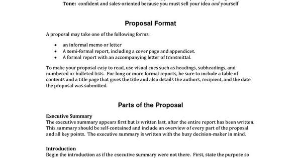 guidelines for writing a proposal research Pinterest - letter of transmittal for proposal