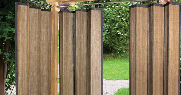 Bamboo Indoor Outdoor Sunscreen Panel Really Like This
