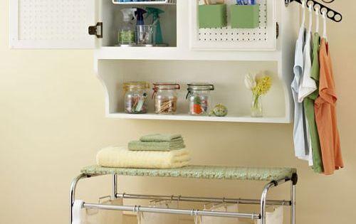 C mo organizar un cuarto de lavado y plancha decoracion for Cuartos de colada y plancha