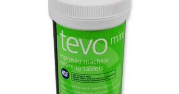 Cafetto Tevo Is The First Espresso Machine Cleaning Tablet To Be Certified By An Organic Certification Bo Cleaning Tablets Miele Coffee Machine Organic Coffee