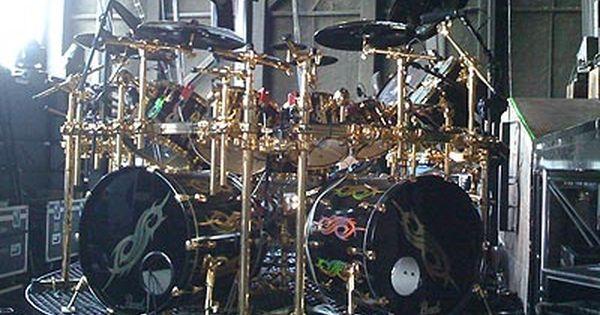 joey jordison drum kit slipknot pinterest discover more best ideas about drum kit drums. Black Bedroom Furniture Sets. Home Design Ideas