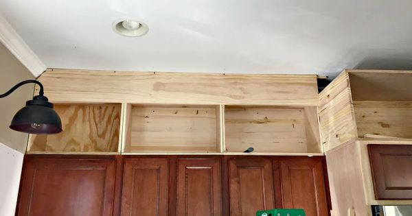 Best Building Cabinets Up To The Ceiling Building Kitchen 640 x 480