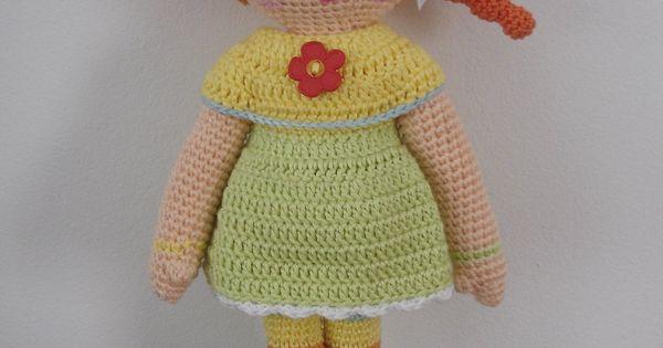 Amigurumi Girl Tutorial : Amigurumi Girl Doll - FREE Crochet Pattern / Tutorial ...
