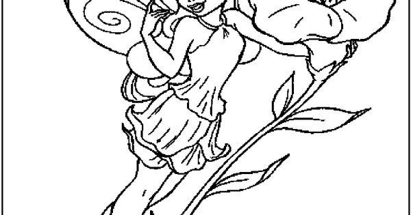 Disney fairy rosetta coloring page disney fairies for Rosetta coloring pages